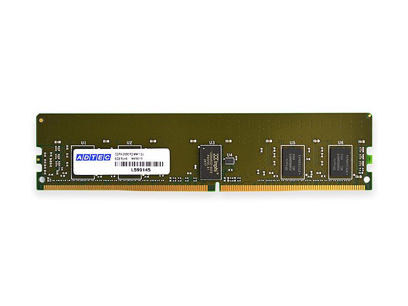 【送料無料】アドテック ADM2933D-R8GSBW Mac用 DDR4-2933 288pin RDIMM 8GB×2枚 シングルランク【在庫目安:お取り寄せ】| パソコン周辺機器 ワークステーション用メモリー ワークステーション用メモリ SV サーバ メモリー メモリ 増設 業務用 交換
