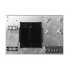 【送料無料】カワムラ SY-6FC スプライスボックス 内機ユニット(6芯FCアダプタ接続タイプ)【在庫目安:お取り寄せ】| オフィス オフィス家具 サーバーラック用サプライ サプライ オプション