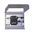 【送料無料】カワムラ HSYCB-4ST メディアコンバータスペース付スプライスボックス(4芯・STアダプタ)【在庫目安:お取り寄せ】| オフィス オフィス家具 サーバーラック用サプライ サプライ オプション