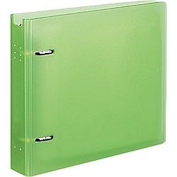 コクヨ EDF-CF221LG CD/ DVDファイル 22枚収容 ケース付 ライトグリーン【在庫目安:お取り寄せ】| パソコン周辺機器 ディスクケース ディスク 収納 ケース CDケース DVDケース BDケース 保護