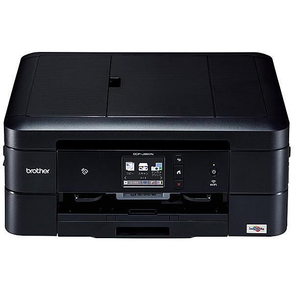 【在庫目安:あり】【送料無料】ブラザー DCP-J982N-B A4インクジェット複合機/ 黒モデル/ ADF/ 有線・無線LAN/ 手差しトレイ/ 両面印刷/ レーベル印刷| プリンター プリンタ 複合機 インクジェット インクジェットプリンター