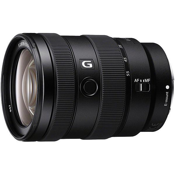 【送料無料】SONY(VAIO) SEL1655G Eマウント交換レンズ E 16-55mm F2.8 G【在庫目安:お取り寄せ】| カメラ ズームレンズ 交換レンズ レンズ ズーム 交換 マウント