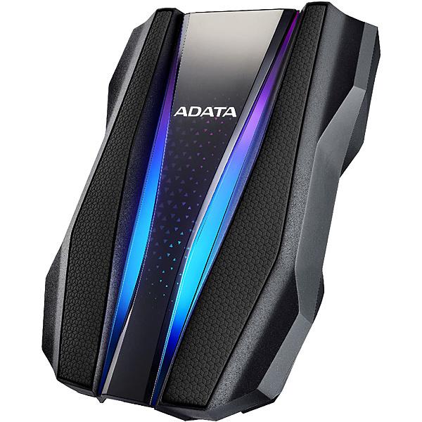 【送料無料】A-DATA Technology AHD770G-2TU32G1-CBK HD770Gシリーズ ポータブルHDD 2TB Black USB3.2 Gen1対応 IP68規格 3年保証【在庫目安:お取り寄せ】| パソコン周辺機器 ポータブル