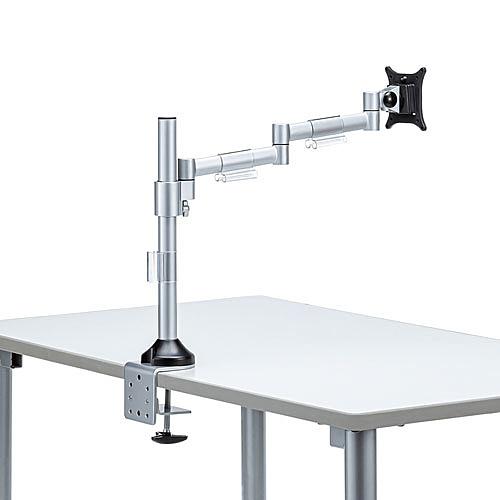 【送料無料】サンワサプライ CR-LA1801 水平多関節液晶モニタアーム(H420 1面)【在庫目安:お取り寄せ】| オフィス オフィス家具