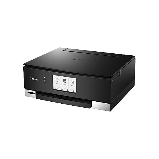 【送料無料】Canon 3780C001 A4カラーインクジェット複合機 PIXUS TS8330 (ブラック)【在庫目安:お取り寄せ】| プリンター プリンタ 複合機 インクジェット インクジェットプリンター インクジェット複合機 スキャナー スキャナ 年賀状