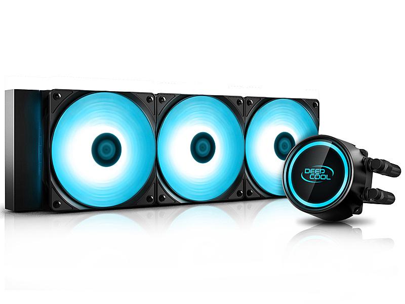 【送料無料】Deepcool DP-H12RF-GL360V2C GAMMAXX L360 V2 (360mm水冷ラジエーターCPUクーラー)【在庫目安:お取り寄せ】