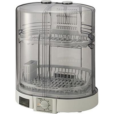 【送料無料】象印マホービン EY-KB50(HA) 食器乾燥器 5人用 省スペース縦型 グレー【在庫目安:お取り寄せ】