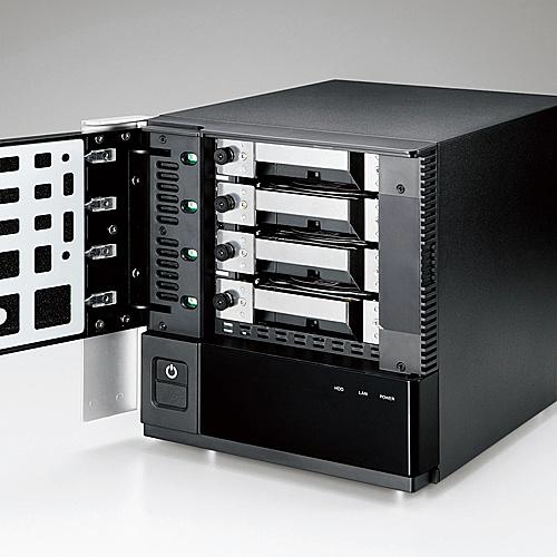 【送料無料】ELECOM NSB-75S24T4DS9 NetStor/ Windows Server IoT 2019 for Storage搭載NAS/ standard Edition/ 4Bay/ デスクトップ/ 24TB【在庫目安:お取り寄せ】| パソコン周辺機器 WindowsNAS Windows Nas RAID 外付け 外付
