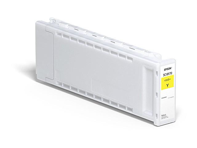 【送料無料】EPSON SC18Y70 SureColor用 インクカートリッジ/ 700ml(イエロー)【在庫目安:お取り寄せ】| インク インクカートリッジ インクタンク 純正 純正インク