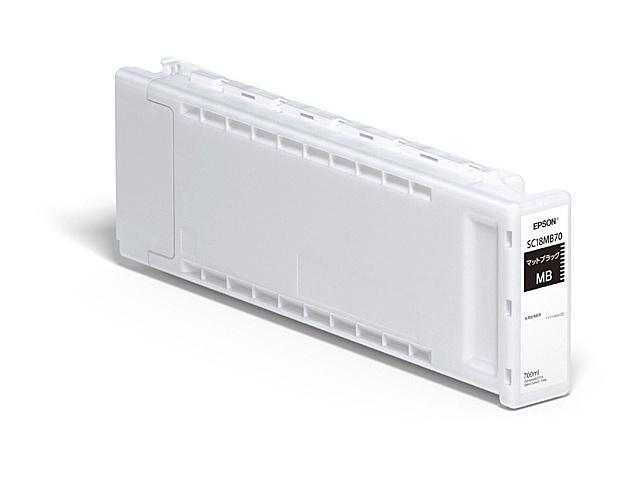 【送料無料】EPSON SC18MB70 SureColor用 インクカートリッジ/ 700ml(マットブラック)【在庫目安:予約受付中】| インク インクカートリッジ インクタンク 純正 純正インク