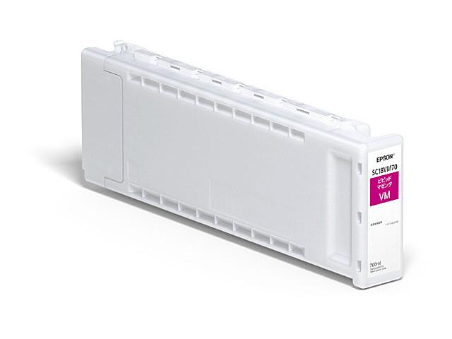 【送料無料】EPSON SC18VM70 SureColor用 インクカートリッジ/ 700ml(ビビッドマゼンタ)【在庫目安:予約受付中】| 消耗品 インク インクカートリッジ インクタンク 純正 インクジェット プリンタ 交換 新品 マゼンタ