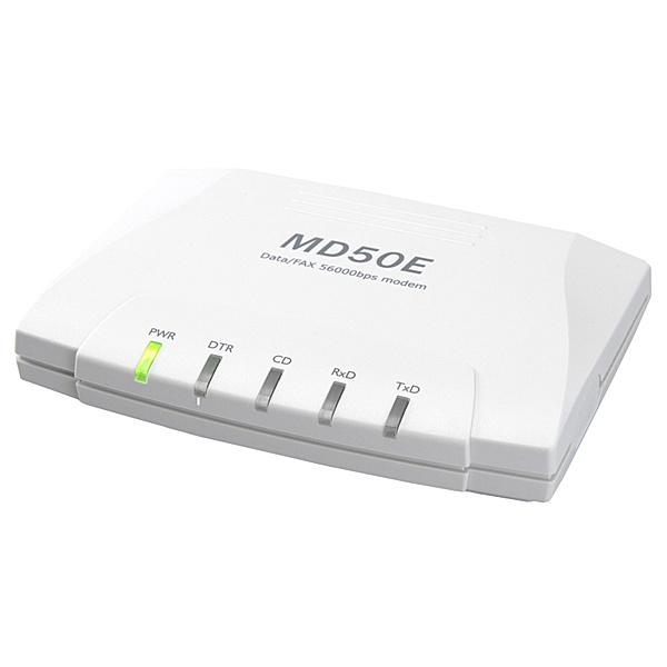 【送料無料】マイクロリサーチ MD50ER RS-232C外付け型データ/ FAXモデム【在庫目安:お取り寄せ】