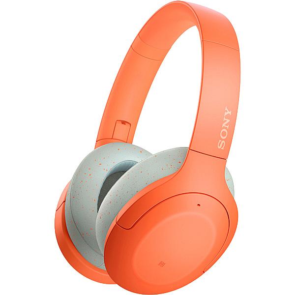 【送料無料】SONY(VAIO) WH-H910N/D ワイヤレスノイズキャンセリングステレオヘッドセット オレンジ【在庫目安:お取り寄せ】| AV機器 オーバーヘッドヘッドホン