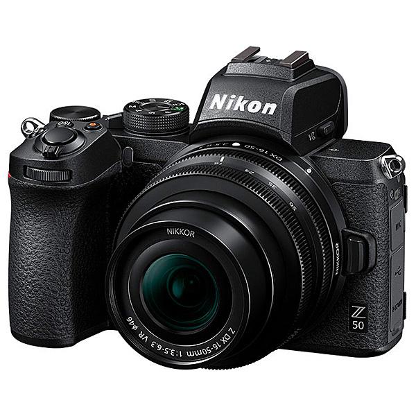 【送料無料】Nikon Z50LK16-50 ミラーレスカメラ Z 50 16-50 VR レンズキット【在庫目安:お取り寄せ】| カメラ ミラーレスデジタル一眼レフカメラ 一眼レフ カメラ デジタル一眼カメラ