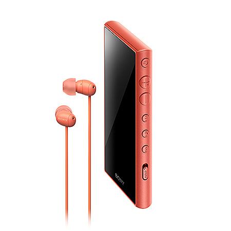 【送料無料】SONY(VAIO) NW-A105HN/D ウォークマン Aシリーズ 16GB オレンジ(ヘッドホン付属)【在庫目安:お取り寄せ】