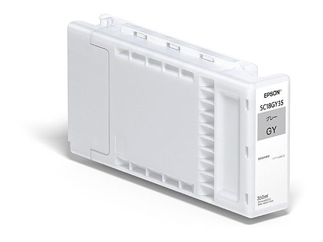 【送料無料】EPSON SC18GY35 SureColor用 インクカートリッジ/ 350ml(グレー)【在庫目安:予約受付中】  消耗品 インク インクカートリッジ インクタンク 純正 インクジェット プリンタ 交換 新品 グレー