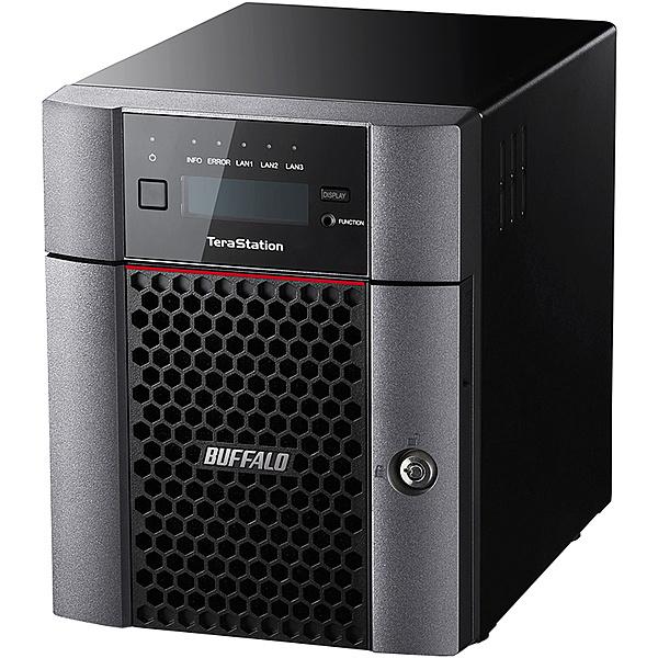【送料無料】バッファロー TS5410DN1204 TeraStation TS5410DNシリーズ 10GbE標準搭載 法人向け 4ドライブNAS 12TB【在庫目安:僅少】| NAS RAID レイド