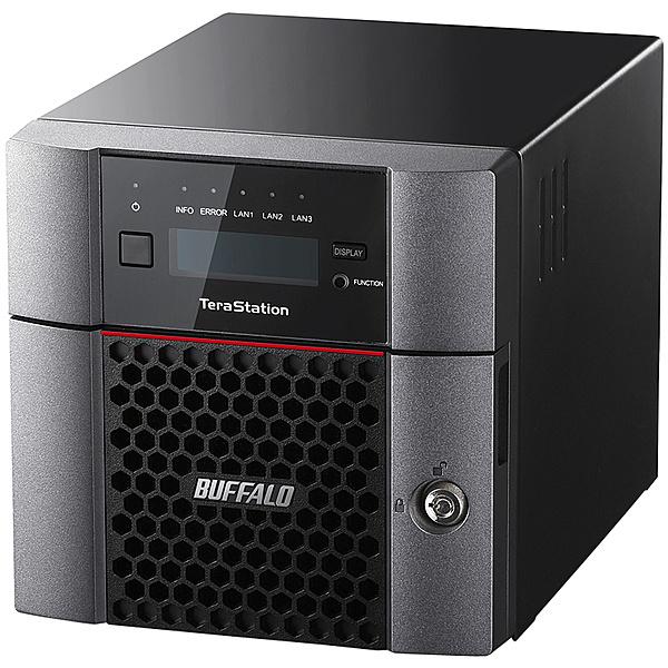【在庫目安:あり】【送料無料】BUFFALO TS5210DN0202 TeraStation TS5210DNシリーズ 10GbE標準搭載 法人向け 2ドライブNAS 2TB| NAS RAID レイド