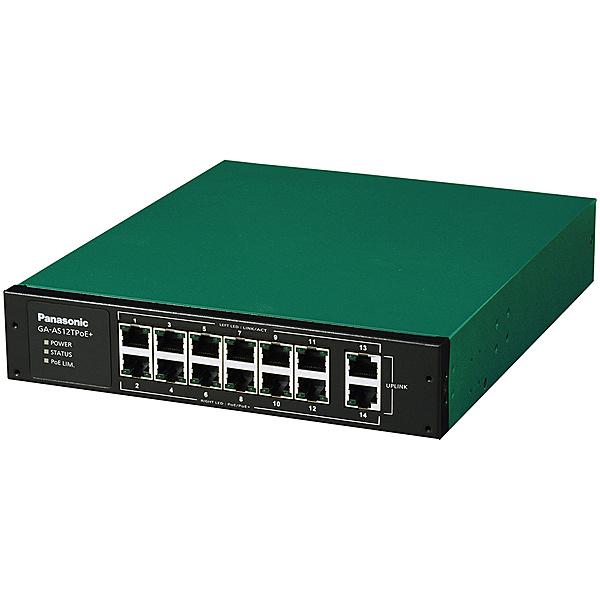【在庫目安:あり】【送料無料】松下ネットワークオペレーションズ PN25128 14ポート PoE給電スイッチングハブ GA-AS12TPoE+  パソコン周辺機器 スイッチングハブ L2スイッチ レイヤー2スイッチ スイッチ ハブ L2 ネットワーク PC パソコン