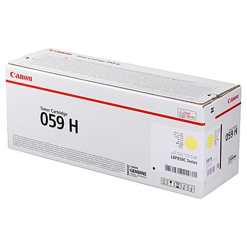 【送料無料】Canon 3624C001 トナーカートリッジ059H イエロー【在庫目安:僅少】| トナー カートリッジ トナーカットリッジ トナー交換 印刷 プリント プリンター