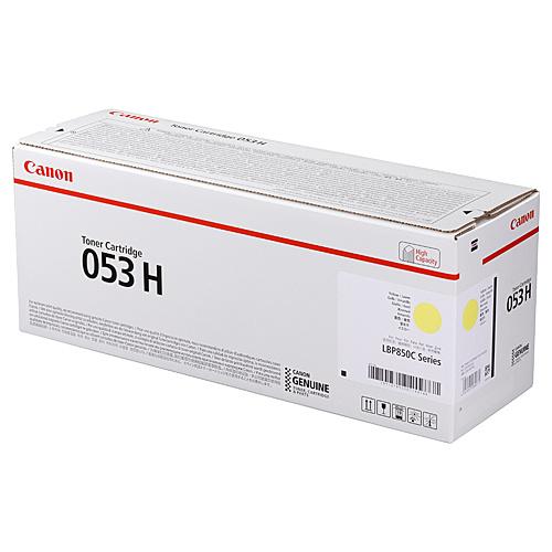【送料無料】Canon 2191C001 トナーカートリッジ053H イエロー【在庫目安:僅少】| トナー カートリッジ トナーカットリッジ トナー交換 印刷 プリント プリンター
