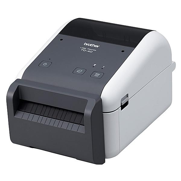 【送料無料】ブラザー TD-4510D 4インチラベル幅感熱ラベルプリンター/ 300dpi/ USB/ RS-232C【在庫目安:お取り寄せ】| プリンタ サーマルプリンタ ラベルプリンタ サーマル ラベル レシート バーコード コンパクト 小型 モバイル