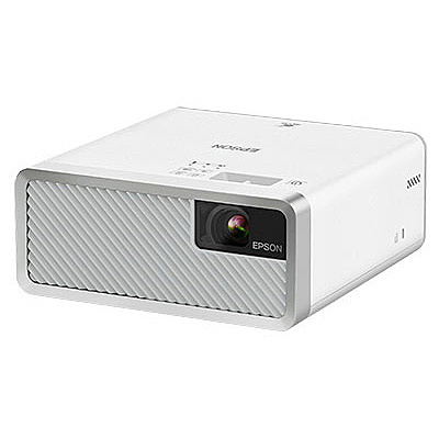 【送料無料】EPSON EF-100WATV ホームプロジェクター/ 2000lm/ WXGA/ レーザー光源/ オールインワン/ ホワイト/ Android TV端末同梱モデル【在庫目安:予約受付中】