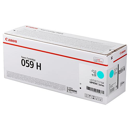 【送料無料】Canon 3626C001 トナーカートリッジ059H シアン【在庫目安:僅少】| トナー カートリッジ トナーカットリッジ トナー交換 印刷 プリント プリンター