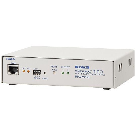 【送料無料】明京電機 RPC-M2CS 遠隔電源制御装置 2口タイプのネットワーク監視・自動リブート装置 WATCH BOOT nino【在庫目安:お取り寄せ】