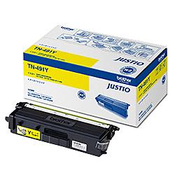 【送料無料】ブラザー TN-491Y トナーカートリッジ (イエロー)【在庫目安:僅少】| トナー カートリッジ トナーカットリッジ トナー交換 印刷 プリント プリンター