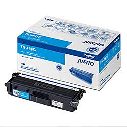 【送料無料】ブラザー TN-491C トナーカートリッジ (シアン)【在庫目安:僅少】| トナー カートリッジ トナーカットリッジ トナー交換 印刷 プリント プリンター