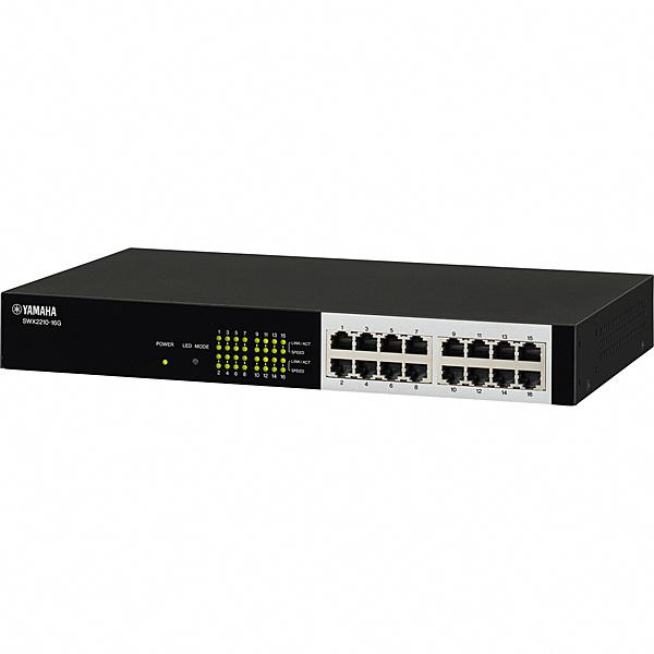 【送料無料】ヤマハ SWX2210-16G スマートL2スイッチ 16ポート【在庫目安:僅少】