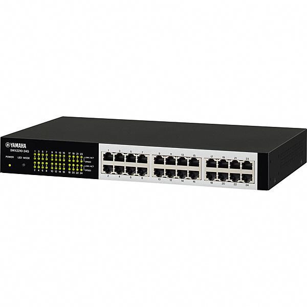 スイッチングハブ ハブ L2スイッチ パソコン周辺機器 SWX2210-24G パソコン 【送料無料】ヤマハ L2 24ポート【在庫目安:お取り寄せ】  スイッチ PC レイヤー2スイッチ スマートL2スイッチ ネットワーク