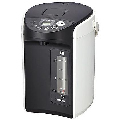 【送料無料】タイガー魔法瓶 PIQ-A300W VE電気まほうびん <とく子さん> 3.0L ホワイト【在庫目安:お取り寄せ】