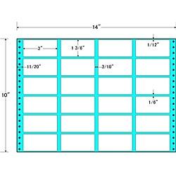 【送料無料】東洋印刷 MH14L タックフォームラベル 14インチ×10インチ 24面付(1ケース500折)【在庫目安:お取り寄せ】| ラベル シール シート シール印刷 プリンタ 自作