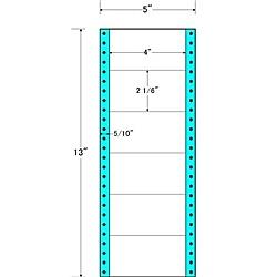 【送料無料】東洋印刷 MM5J タックフォームラベル 5インチ×13インチ 6面付(1ケース1000折)【在庫目安:お取り寄せ】| ラベル シール シート シール印刷 プリンタ 自作