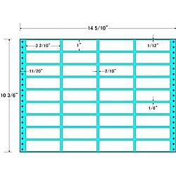 【送料無料】東洋印刷 MT14Z タックフォームラベル 14 5/ 10インチ×10 3/ 6インチ 36面付(1ケース500折)【在庫目安:お取り寄せ】  ラベル シール シート シール印刷 プリンタ 自作