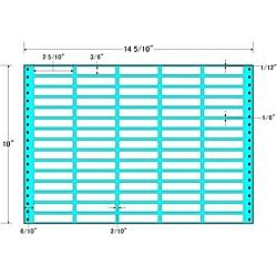 【送料無料】東洋印刷 MX14U タックフォームラベル 14 5/ 10インチ×10インチ 75面付(1ケース500折)【在庫目安:お取り寄せ】| ラベル シール シート シール印刷 プリンタ 自作