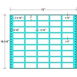 【送料無料】東洋印刷 M13P タックフォームラベル 13インチ×10 3/ 6インチ 45面付(1ケース500折)【在庫目安:お取り寄せ】| ラベル シール シート シール印刷 プリンタ 自作