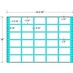 【送料無料】東洋印刷 MX14V タックフォームラベル 14 5/ 10インチ×10インチ 30面付(1ケース500折)【在庫目安:お取り寄せ】| ラベル シール シート シール印刷 プリンタ 自作