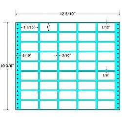 【送料無料】東洋印刷 MT12H タックフォームラベル 12 5/ 10インチ×10 3/ 6インチ 45面付(1ケース500折)【在庫目安:お取り寄せ】| ラベル シール シート シール印刷 プリンタ 自作