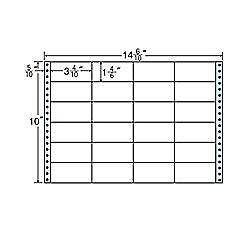 【送料無料】東洋印刷 M14N タックフォームラベル 14 6/ 10インチ×10インチ 24面付(1ケース500折)【在庫目安:お取り寄せ】| ラベル シール シート シール印刷 プリンタ 自作