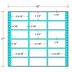 【送料無料】東洋印刷 MH12P タックフォームラベル 12インチ×11インチ 18面付(1ケース500折)【在庫目安:お取り寄せ】| ラベル シール シート シール印刷 プリンタ 自作