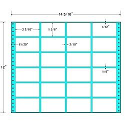 【送料無料】東洋印刷 MX14G タックフォームラベル 14インチ5/ 10 ×12インチ 24面付(1ケース500折)【在庫目安:お取り寄せ】| ラベル シール シート シール印刷 プリンタ 自作