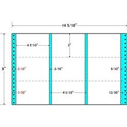 【送料無料】東洋印刷 M14K タックフォームラベル 14 5/ 10インチ×9インチ 9面付(1ケース500折)【在庫目安:お取り寄せ】| ラベル シール シート シール印刷 プリンタ 自作