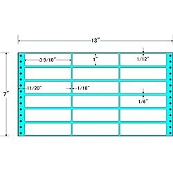 【送料無料】東洋印刷 MX13V タックフォームラベル 13インチ×7インチ 18面付(1ケース1000折)【在庫目安:お取り寄せ】| ラベル シール シート シール印刷 プリンタ 自作