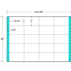【送料無料】東洋印刷 M14D タックフォームラベル 14 2/ 10インチ×10インチ 20面付(1ケース500折)【在庫目安:お取り寄せ】| ラベル シール シート シール印刷 プリンタ 自作