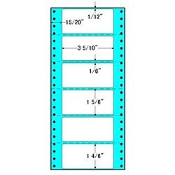 【送料無料】東洋印刷 R5E タックフォームラベル 5インチ×11インチ 6面付(1ケース1000折)【在庫目安:お取り寄せ】| ラベル シール シート シール印刷 プリンタ 自作