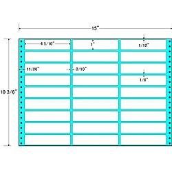 【送料無料】東洋印刷 MH15M タックフォームラベル 15インチ×10 3/ 6インチ 27面付(1ケース500折)【在庫目安:お取り寄せ】| ラベル シール シート シール印刷 プリンタ 自作