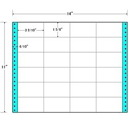【送料無料】東洋印刷 MT14R タックフォームラベル 14インチ×11インチ 24面付(1ケース500折)【在庫目安:お取り寄せ】| ラベル シール シート シール印刷 プリンタ 自作